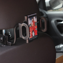 Car Seat Headrest Mobile Holder Cellphone Gps Holders Mp3 Mp4 Pda With A c Outlet Clamp