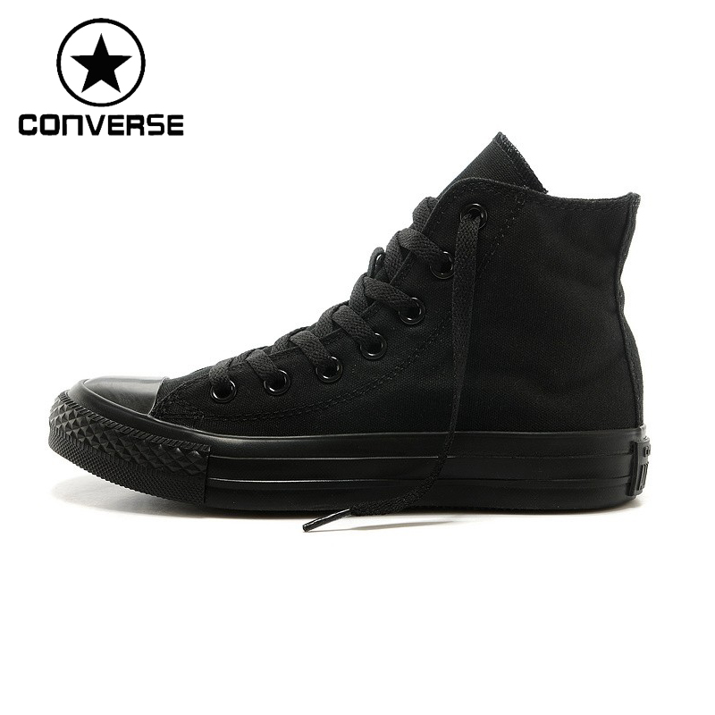 цены Original New Arrival 2018 Converse Classic Unisex Canvas High top Skateboarding Shoes Sneaksers