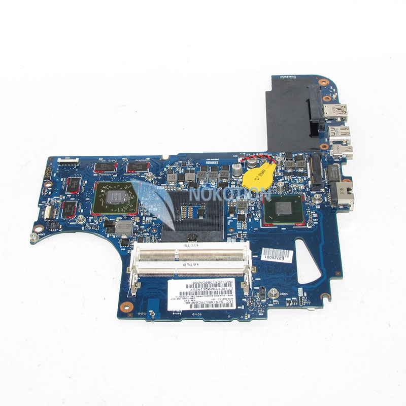 NOKOTION 654173-001 For HP Envy 14 14-2000 Laptop Motherboard PCA SYS Board HM65 HD6630M 1GB Video Card 6050A2443401-MB-A02