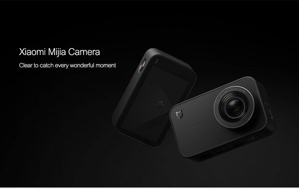 Original Xiaomi Mijia Mini Action Camera Digital Camera 4K 30fps Video Recording 145 Wide Angle 2.4 Inch Touch Screen Sport Smart App Control ok (1)