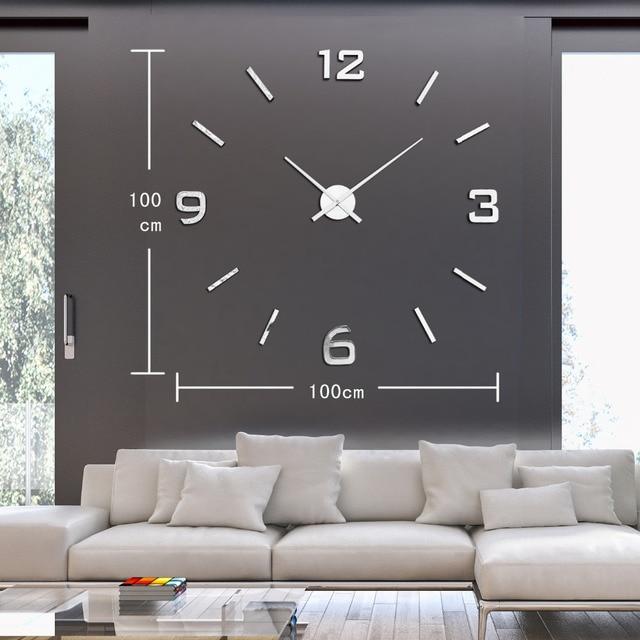 Relojes de salon modernos interesting lbum de plata y - Relojes para salon ...