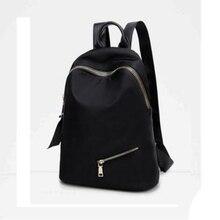 Оксфорд рюкзак корейский стиль; Простые Модные женские туфли рюкзак для отдыха Однотонная одежда рюкзак элегантный дизайн Нейлон Школьная Сумка
