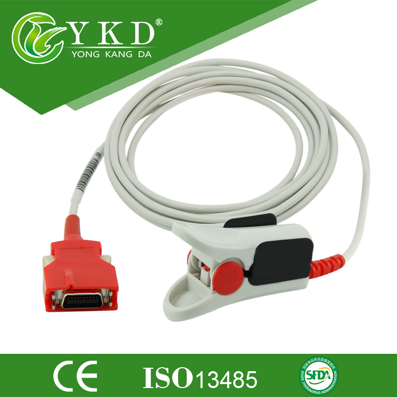 Rad-7 Rad-8 SpO2 Erwachsene Puls Sensor Sonde 2201 DCI-DC-3 Regenbogen Rot 20Pin