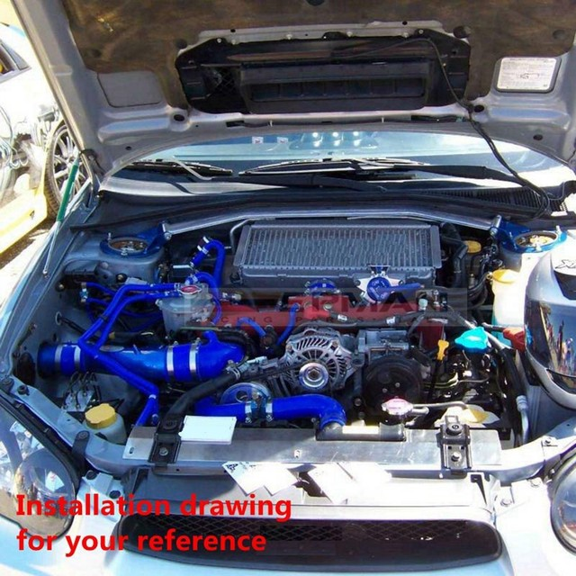 Online Shop Silicone Intercooler Turbo Radiator Hose Kit For Acura - Acura integra radiator