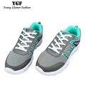 YGF Моды для Мужчин Обувь Весна Лето Тренеры Мужская Воздуха Сетки Повседневная Обувь на Плоской Подошве Удобные Дышащие Плоские Туфли Zapatos Hombre