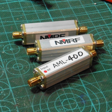Free shipping AML-400 433MHz (315MHz) coaxial feed RF low noise antenna amplifier LNA