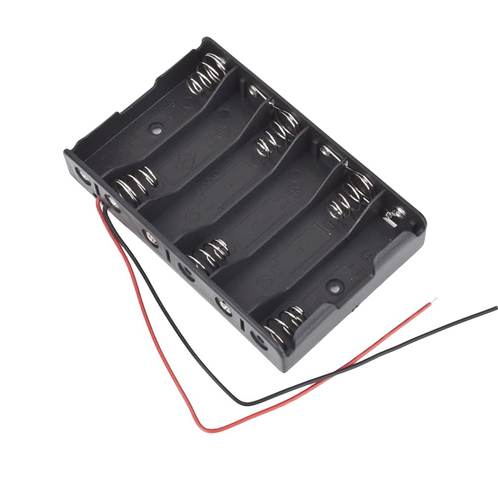 2016 New 6 X 1.5V AA 2A CELL Battery Batteries Holder Storage Box 9V C