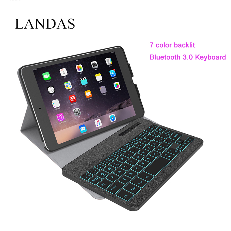 все цены на Landas Universal Luxury Keyboard For iPad Mini 2 Bluetooth Wireless Backlit Keyboards For iPad Mini Keyboard Tablet For Mini 3