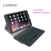 Landas Universal Luxury Keyboard For IPad Mini 2 Bluetooth Wireless Backlit Keyboards For IPad Mini Keyboard