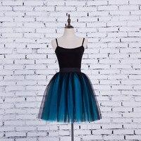 FOLOBE Tulle Váy cho Cô Gái Phụ Nữ M Kích Thước Puffy Bóng Gown Cô Gái Trẻ Váy Knee Length Bóng Áo Choàng Tutu Váy