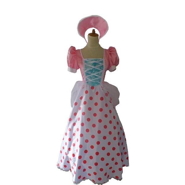 Cartoon Movie Toy Story Bo Peep Cosplay Costumebo Peep Cosplay Dress