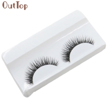 OutTop Best Deal Big sale! 1Pair False Eyelash Wpmen Girl Natural Beauty Dense A Pair False Eyelashes Faux cils