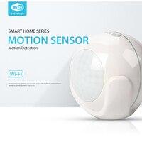NEO Smart WiFi PIR Motion Sensor Work With Amazon Alexa Goole Assistant IFTTT No Expensive Hub