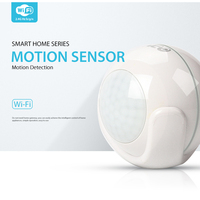 NEO Smart WiFi PIR Motion Sensor Work With Amazon Alexa Goole Assistant IFTTT No Expensive Hub