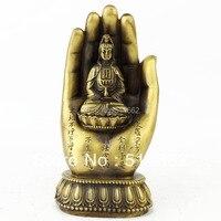 FengShui Messing Hände GuanYin Figuren/KUAN YIN/MESSING KUAN YIN M1271