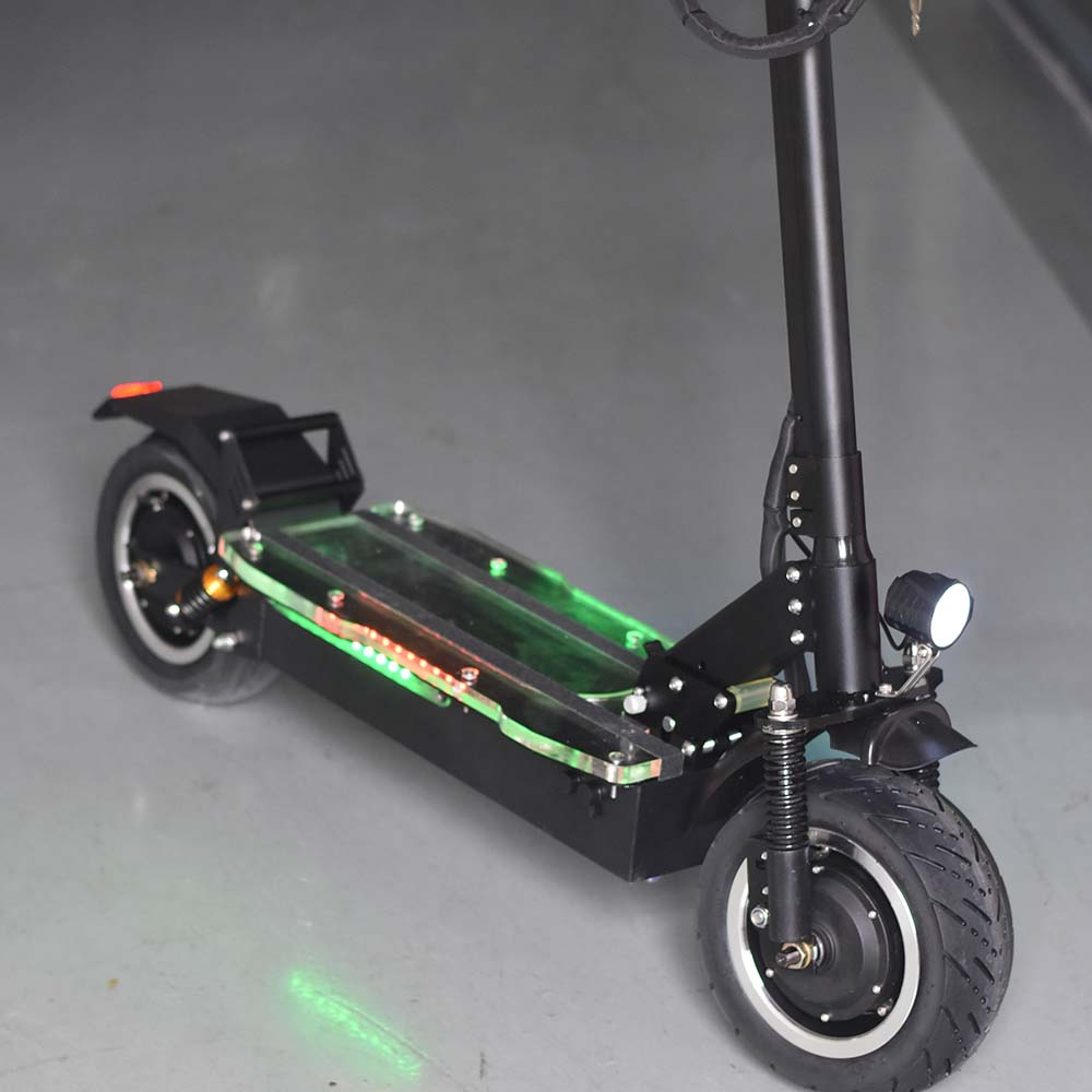 85km/h Adult 1600W*2 Big Wheel Offroad Foldable Off Road 3200W Dual Motor Electric Scooter P1