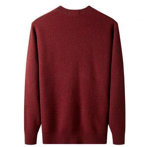 Image 4 - Yeni varış yüksek kaliteli erkek 100% kaşmir kalınlaşmış ceket kazak rahat bilgisayar örme v yaka hırka erkekler artı boyutu XS 5XL