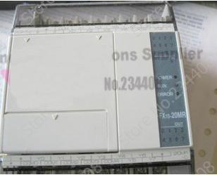 New Original 12 DI 8 DO Relay Output FX1S-20MR-D PLC Programmable Logic Controller 24V Base Unit 1764 24bwa plc micrologix 1500 base unit 12 inputs 12 outputs new original