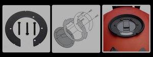 Image 2 - Dầu Xe Máy Bình Nhiên Liệu Túi Túi Điện Thoại Di Động Điều Hướng Túi Nhanh Chóng Tháo Lắp Cho Xe BMW KAWASAKI HONDA SUZUKI YAMAHA DUCATI