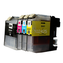 1 Set Compatible Ink Cartridge for Brother LC549 LC545 LC549XL LC545XL for Brother DCP-J100 DCP-J105 MFC-J200 Printer