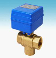 Free Shipping  5pcs/Lot G1/2'' Brass 3 way Electric Mini Ball Water Treatment Valve 12V Control Way CR01 or CR02 free shipping cwx 20 brass mini electric 3 way ball valve g1 2 water treatment havc 5v control type cr01 or cr02