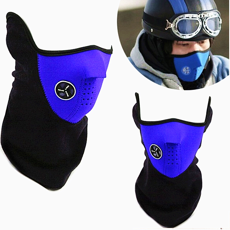 Sport Mask New Neck Warm Half Face Mask Windproof Winter Sport ride Bike Cycling mask Ski