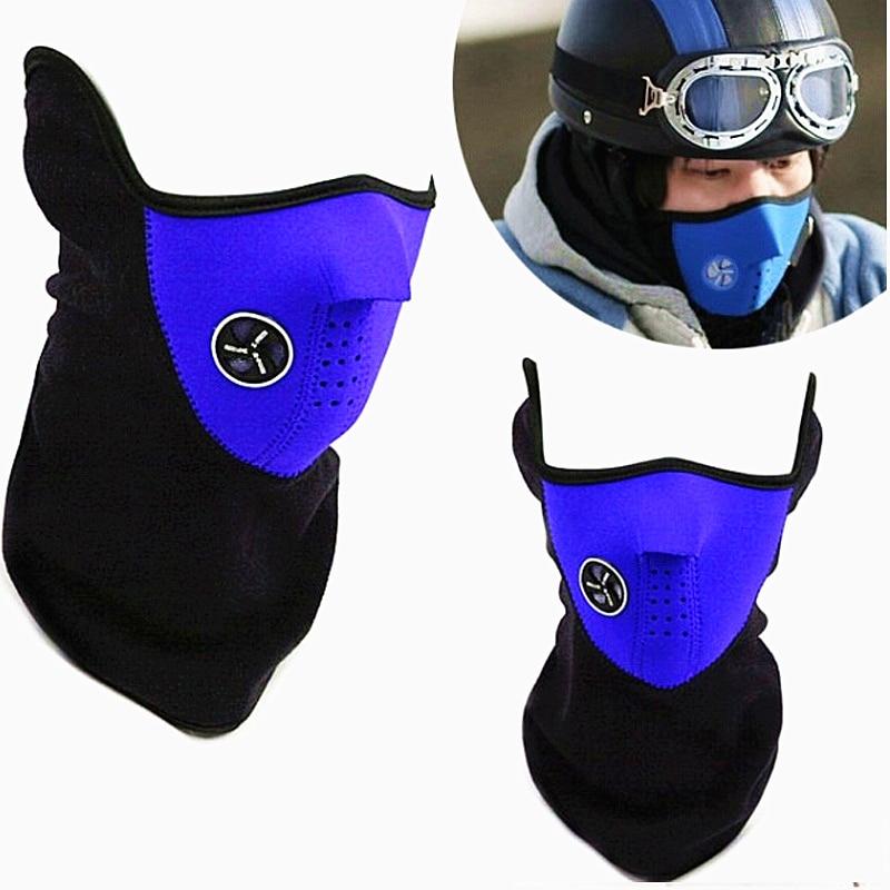 Sport Skii Mask New Neck Warm Half Face Mask Windproof Winter Sport Ride Bike Cycling Mask Ski Mask Outdoors Dust Cap
