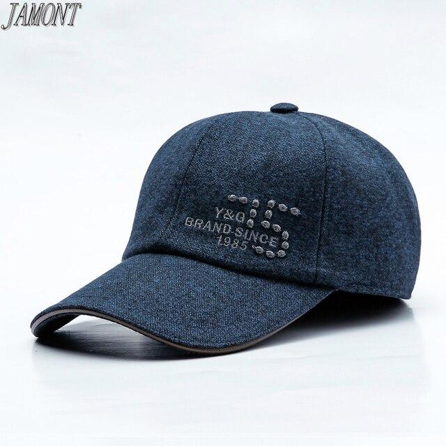2018 nueva moda gorra de béisbol para hombres de mediana edad y las mujeres  de invierno ... 2dde8ef5cea