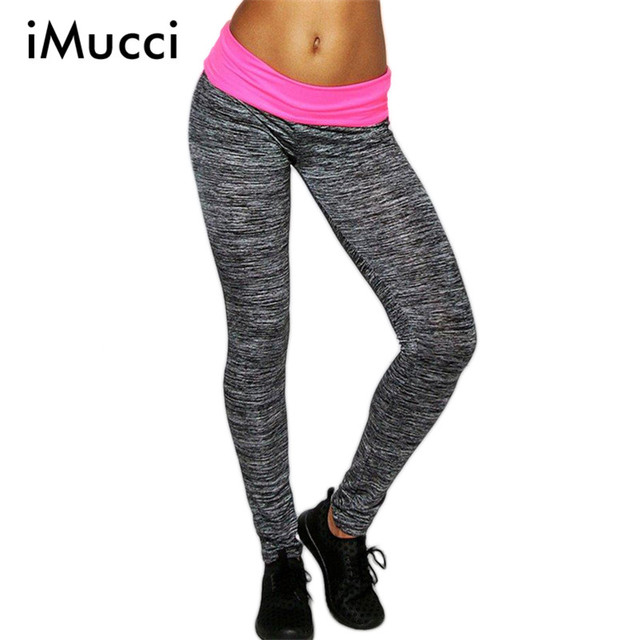 High Waist Skinny Sexy Fitness Leggings Women Spell Color Breathable Slim Women Leggings Cotton Gray Casual Legging Pants Women
