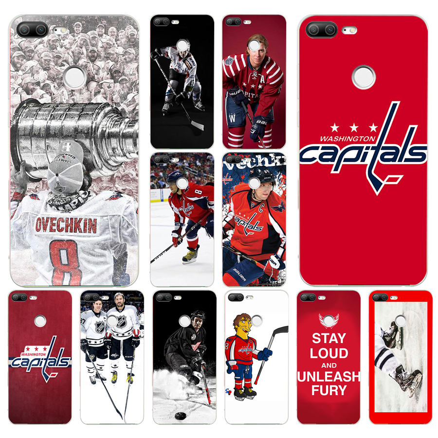 182FG Ice Hockey Alexander Ovechkin Sidney gift Soft Silicone Tpu Cover phone Case for huawei Honor 9 10 20 Lite Pro(China)