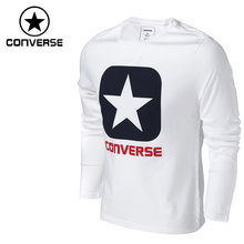 Original New Arrival  Converse  Men's T-shirts Long sleeve Sportswear