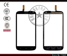 Touchscreen for Huawei Ascend G610-U20 Digitizer Glass Panel Front Glass Lens Sensor Flex Cable with Logo(black,white)