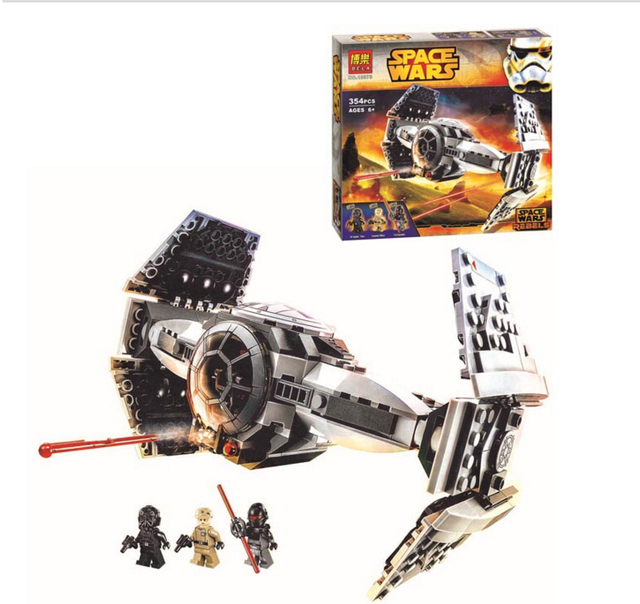Бела Star Wars TIE Усовершенствованный Прототип Building Block Набор Инквизитор Имперский Офицер цифры лепин 75082 Совместимость