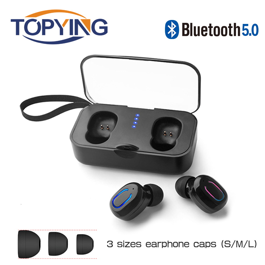 T18S Invisible Bluetooth Earphones 5.0 TWS Mini Wireless Earbuds Stereo Deep Bass Headset with charging box Portable 2019 newT18S Invisible Bluetooth Earphones 5.0 TWS Mini Wireless Earbuds Stereo Deep Bass Headset with charging box Portable 2019 new