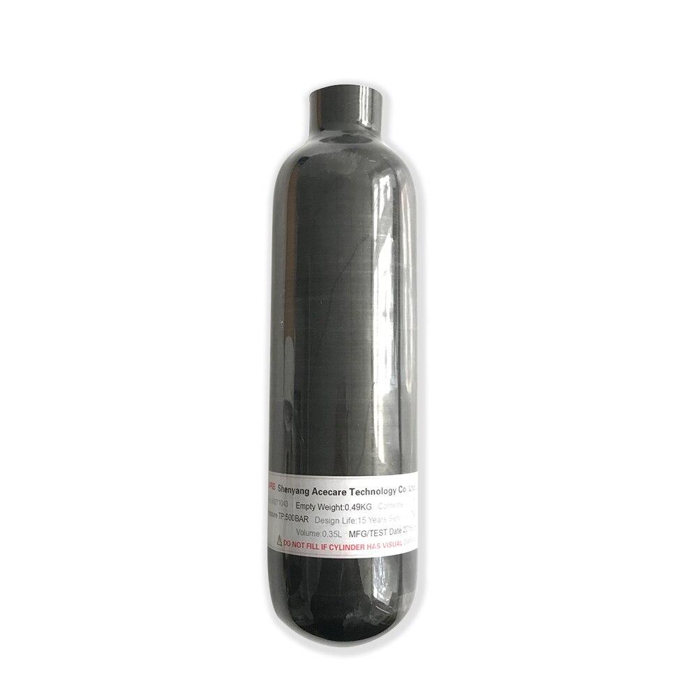 AC3035 mini cylindre plongée 0.35L fusil à air comprimé paintball réservoir comprimé bouteille pistolet à air paintball chasse sous-marine baril airsoft