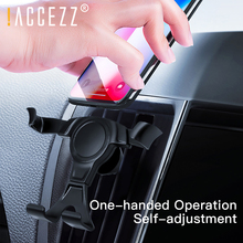 !ACCEZZ Universal Car Phone Holder Gravity Bracket Stand Air Vent Mount Flexible For iPhone X 7 Xs Samsung s10 Mobile
