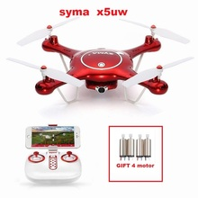 Original Syma X5UW 2.4G RC Drone RC quoadcopter with HD Camera FPV 2.4G 4CH RC Helicopter