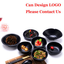 Japanese Style Imitation Porcelain Dinnerware Creative Melamine Bowl with Handle Shaped Sauce Seasoning Bowls Soup Bowl Oil Dish bai lin tong oil soup diet bailingtong oil tang zhengpin lotus soup a bowl of oil stocks blue tea soup page 3