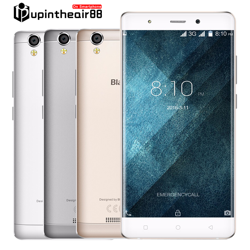 New Arrivial Original Blackview A8 Quad Core Cheap font b Smartphone b font 2 5D Arc