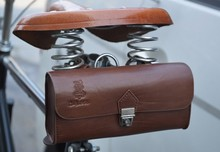 imitation leather roab bike city bike travel bicycle handlebar tube saddle luggage  bag