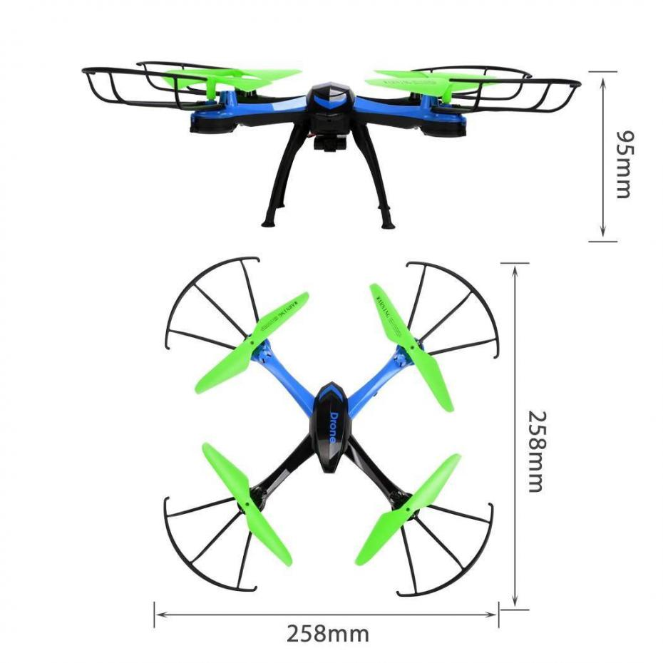 Jjrc H98 Rc Quadcopter With Camera Mini Drones Rc Helicopter 4ch Quadcopter Headless Mode Copter Remote Control Toys Dron