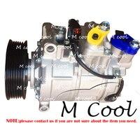 6SEU14C AUTO AC COMPRESSOR FOR AUDI A6 2.4 2.8 3.0 2004 2011 4F0260805D 4F0260805F 4F0260805K 4F0260805Q SG 447190 4910