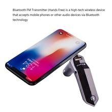 Bluetooth FM Transmitter 3.1A USB Port Audio Cable Car Converter MP3 Player Auto Accessories Handsfree