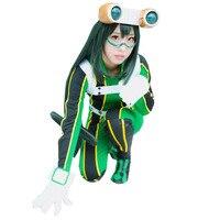 2018 Anime My Hero Academia Asui Tsuyu Boku no Hero Academia Cosplay costume Customize Any Size