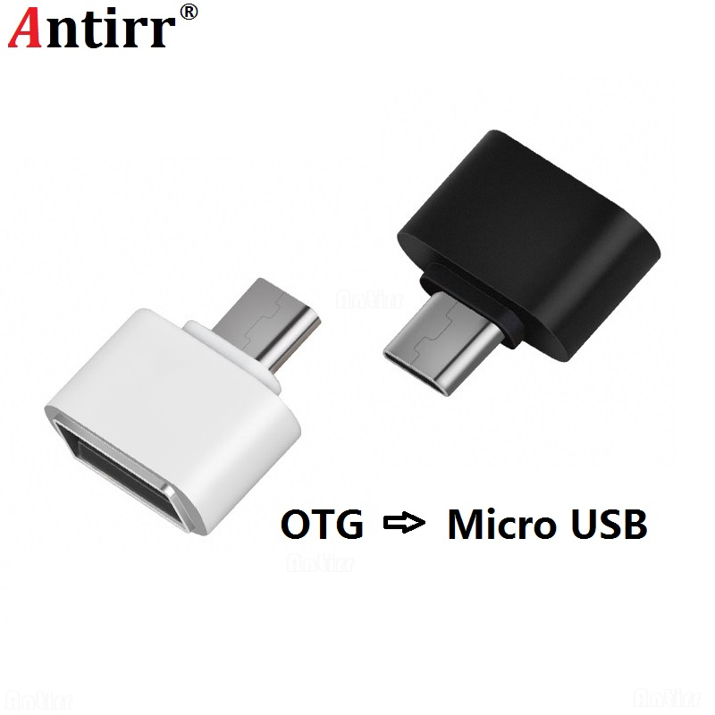 Antirr  Mini Micro USB OTG Adapter Male To USB2.0 Converter For Samsung Xiaomi Huawei LG Android Phone USB OTG Adapter