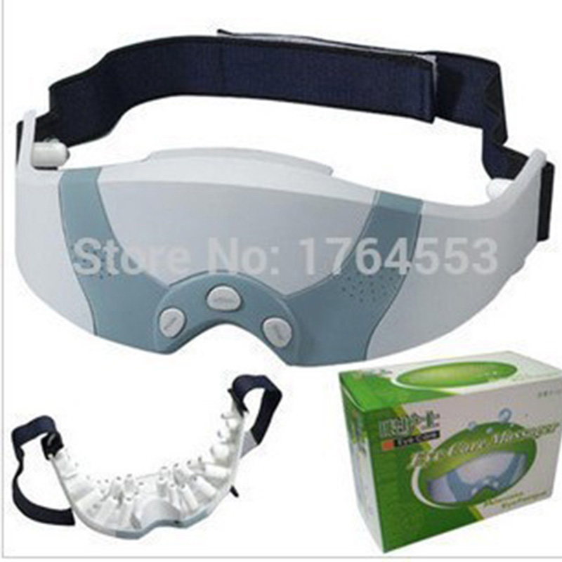 Mask Migraine DC Electric Care Forehead Eye Massager Device With Free Gift Eye Mask Eye Massage Massager Tool eye massager massage device eye mask essence absorber