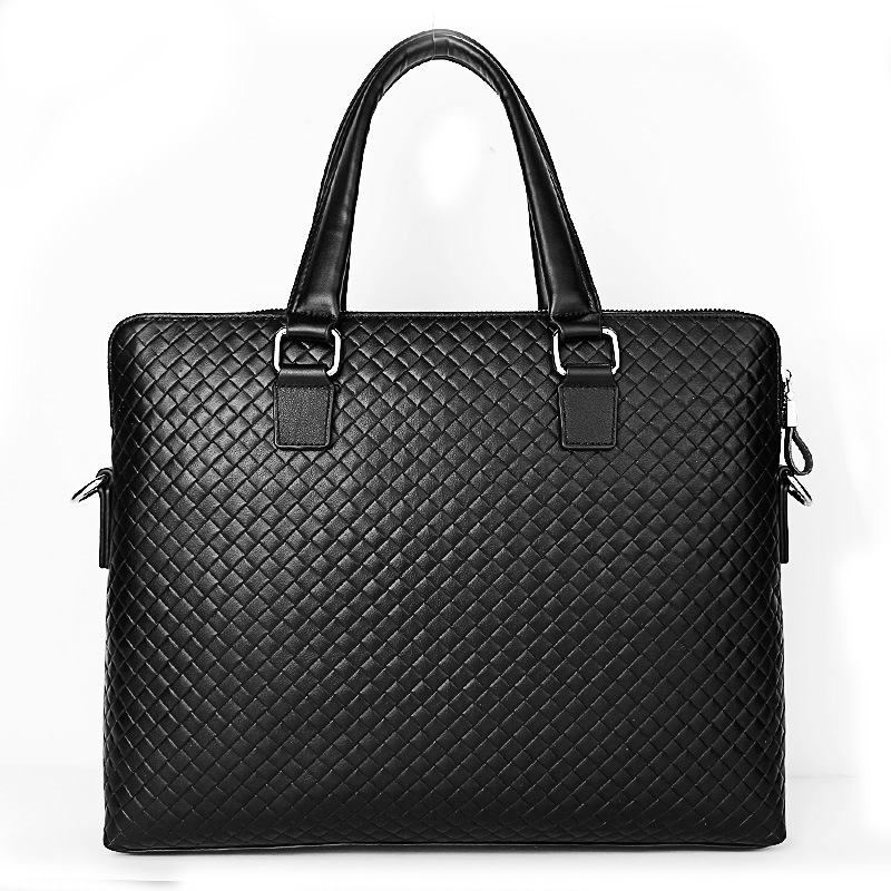 Luxury Alligator Cow Genuine Leather Business Men's Briefcase Male Briefcase Shoulder Bag Men Messenger Bag Tote Computer Bag