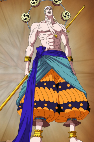 Free Shipping One Piece Enel Cosplay Costume Custom Made For Halloween And Christmas In Anime
