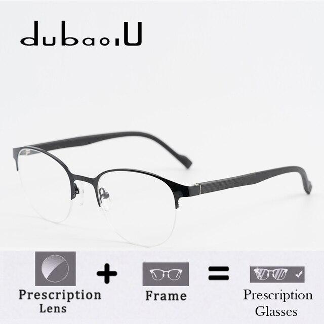 a4fea99758 Alloy Prescription Glasses Women Myopia Astigmatism Progressive Anti Blue  Bifocal Clear Optical Prescription Eyeglasses  HZ15-57
