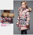Girls fashion warm high-end down jacket